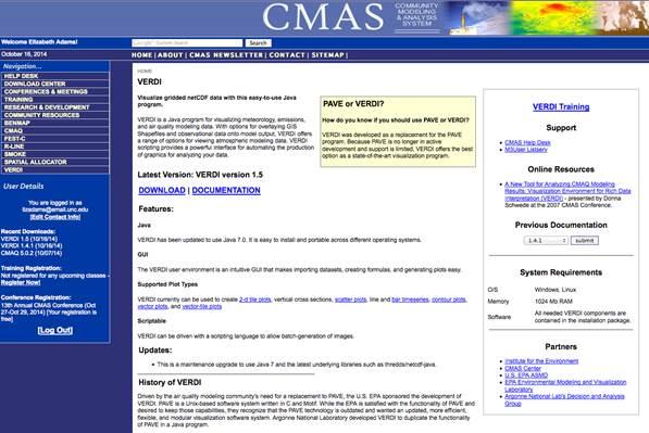 VERDI 1 5 User Manual - CMASWIKI